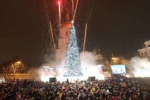 Киевская елка стала рекордсменом СНГ: в росСМИ это не учли