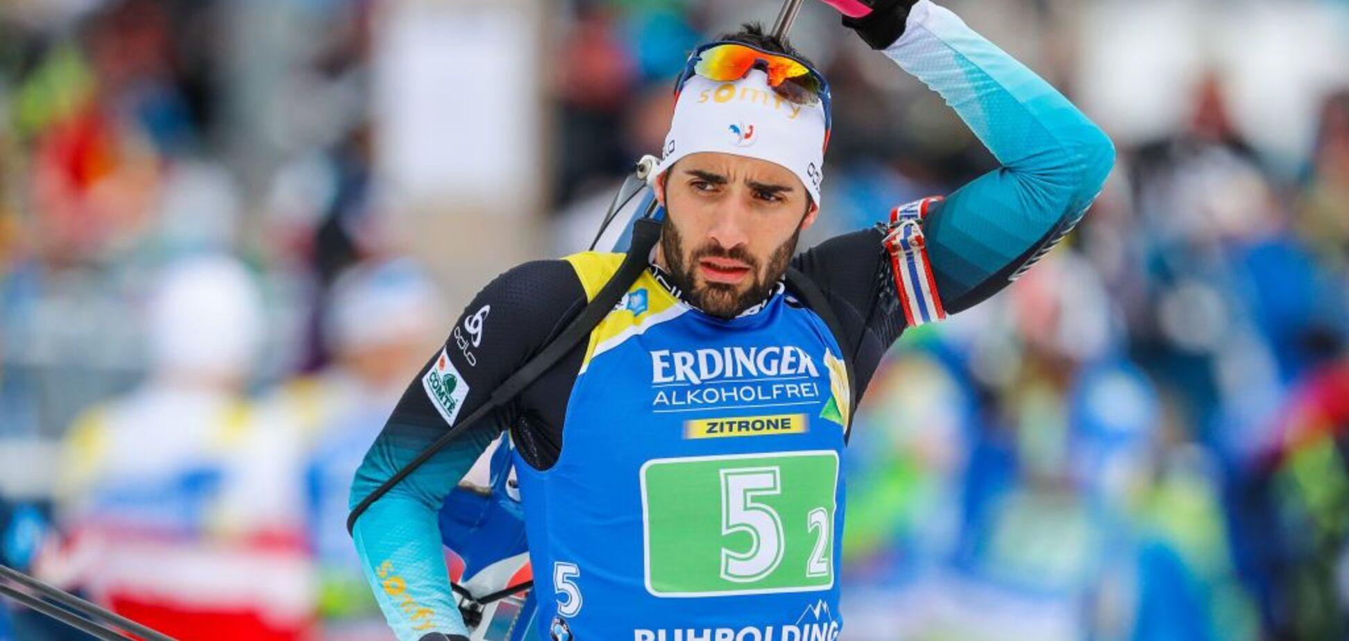 Лучшего биатлониста планеты затоптали в масс-старте Кубка мира - опубликовано видео