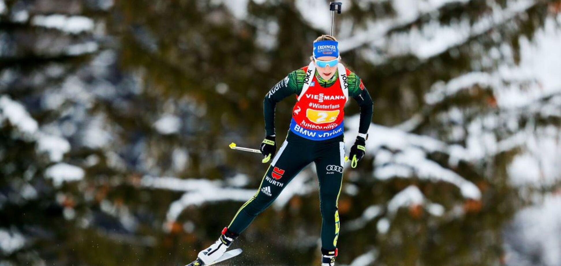 Женский масс-старт на Кубке мира по биатлону завершился громкой сенсацией