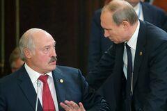 ''Братське'' поглинання Білорусі Росією зобразили в красномовній карикатурі