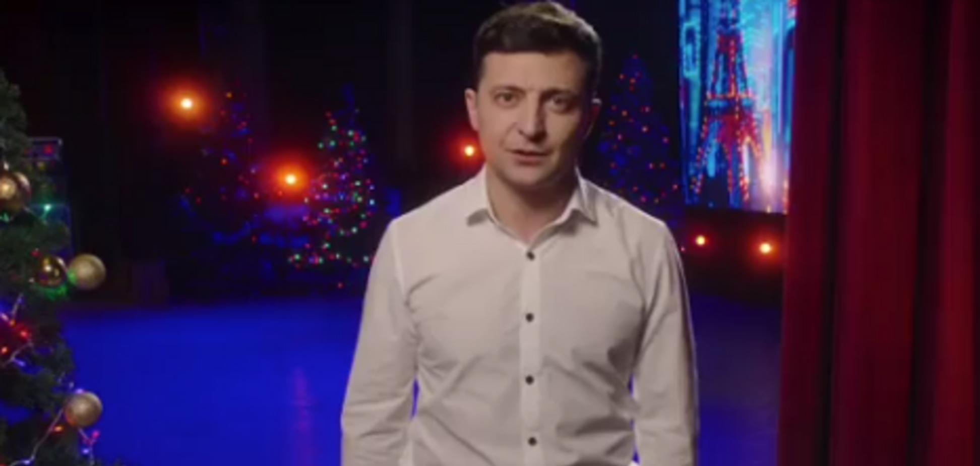 Скандал із новорічним зверненням Зеленського: український телеканал спростував заяву шоумена