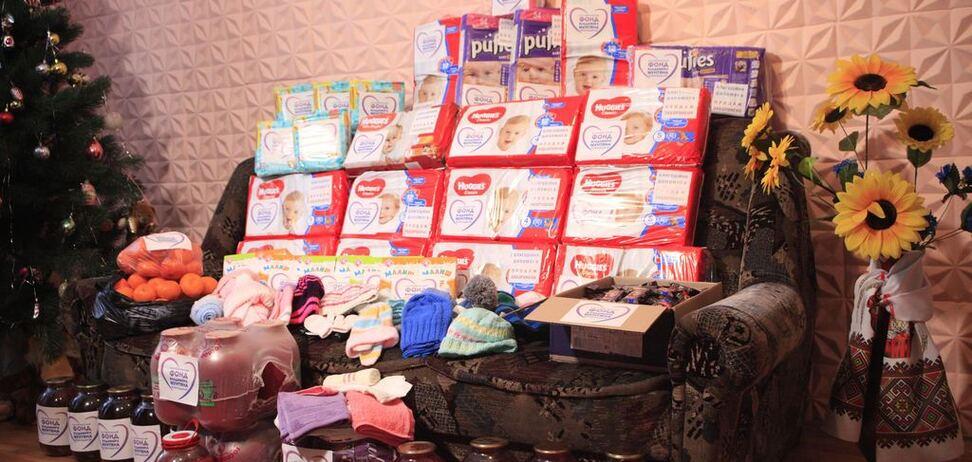 Основатели Фонда Мунтяна устроили сюрприз детям из Дома малютки в Сумах