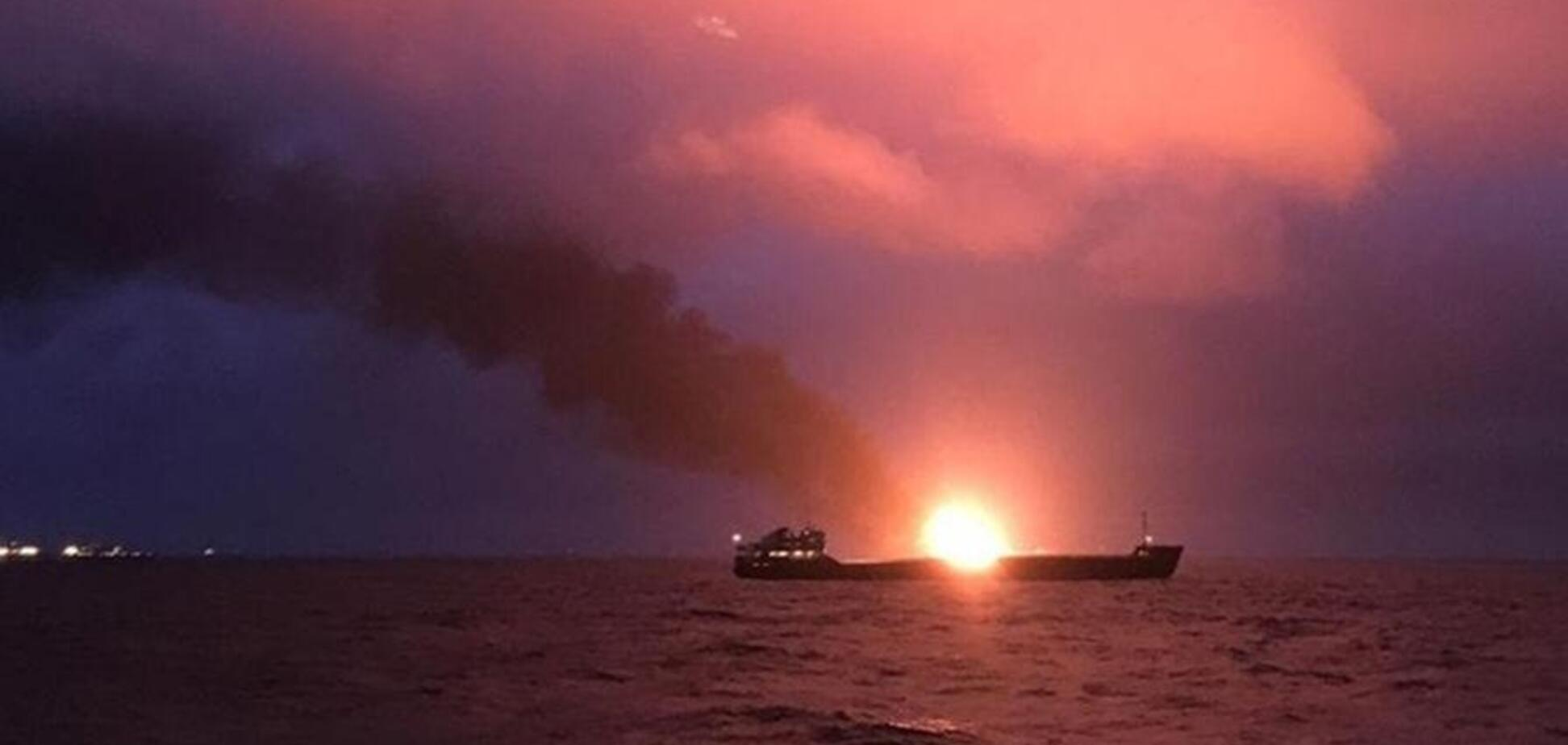 На горящих танкерах у Керченского пролива произошло новое ЧП