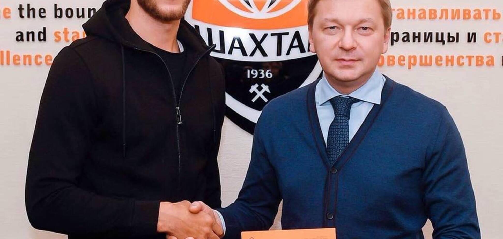 Официально: 'Шахтер' подписал киевского защитника
