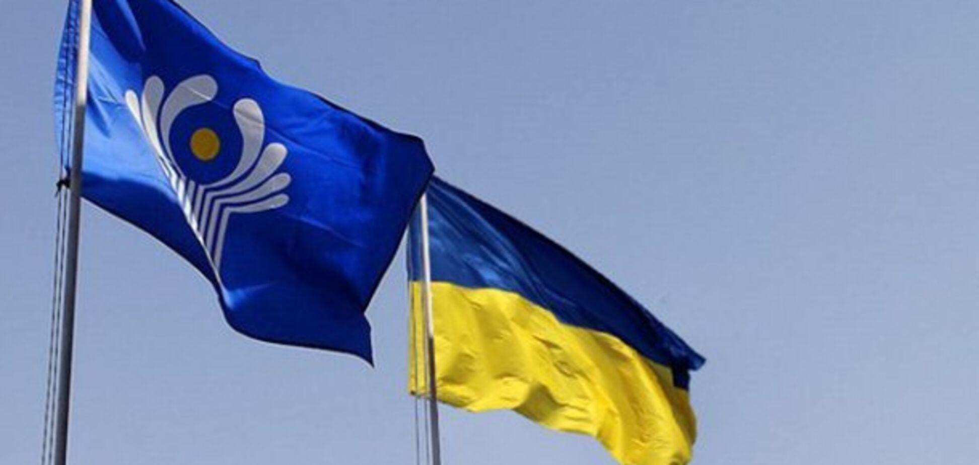 Украина в СНГ. Источник: Телеканал 24