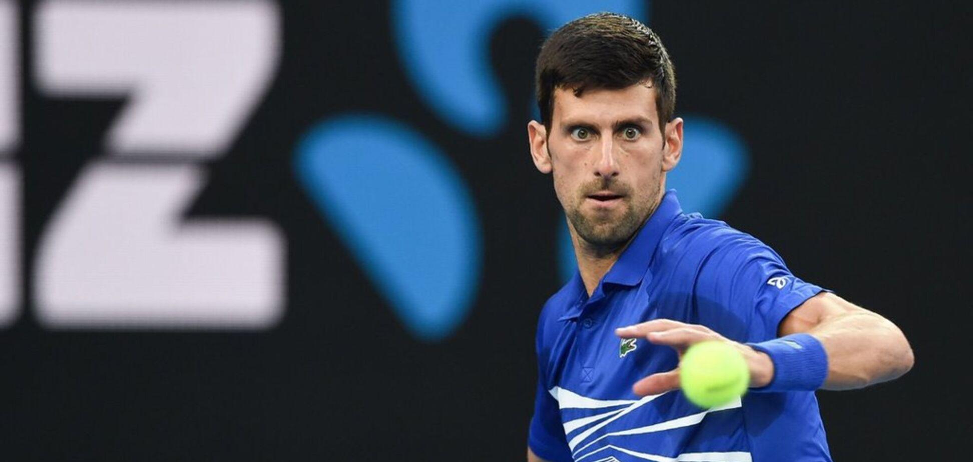Лучший теннисист мира вышел из себя из-за вопроса о сопернике