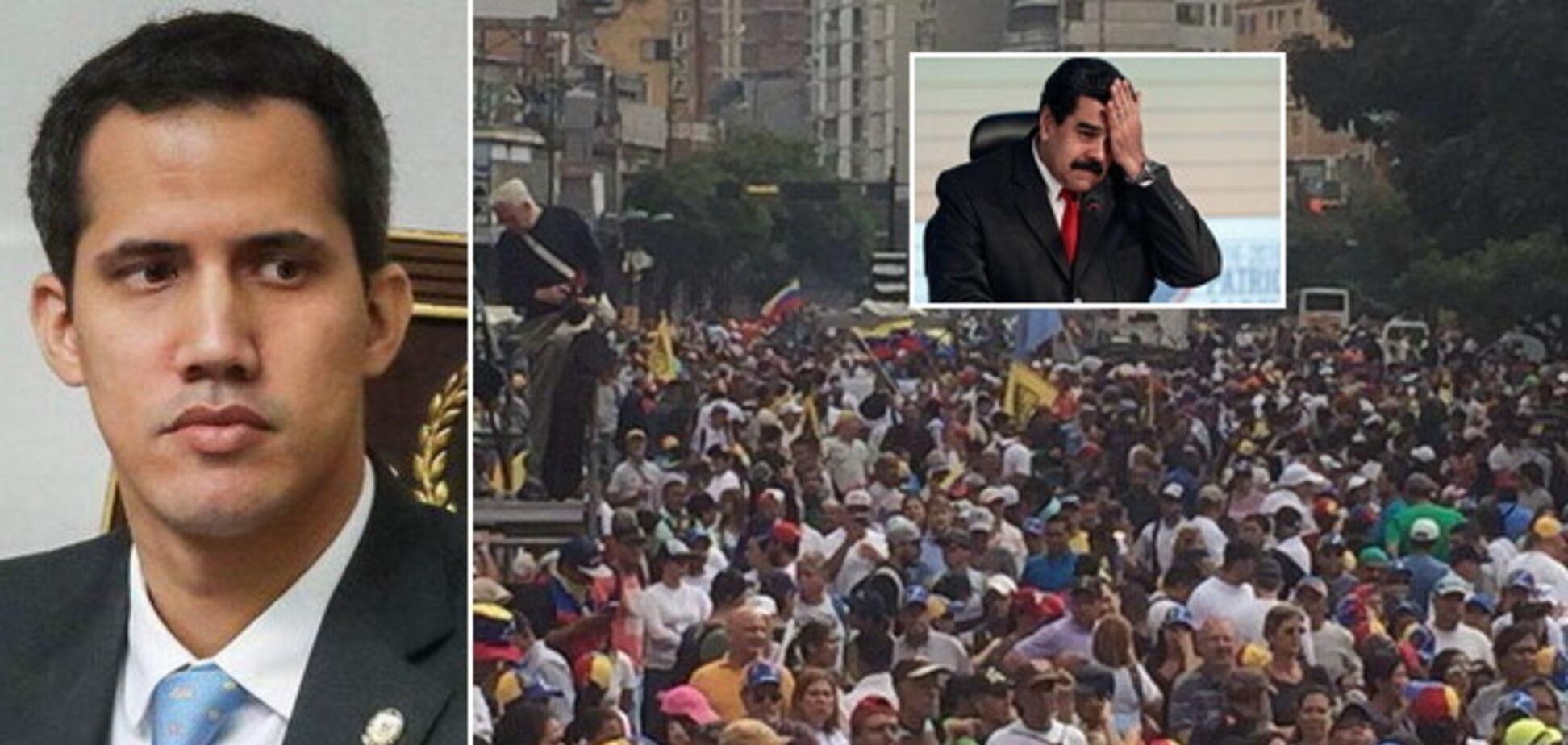 'Майдан' у Венесуелі скинув Мадуро: Трамп підтримав нового президента. Усі подробиці, фото і відео