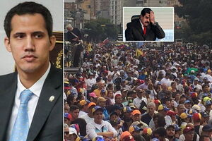 'Майдан' в Венесуэле сверг Мадуро: Трамп поддержал нового президента. Все подробности, фото и видео