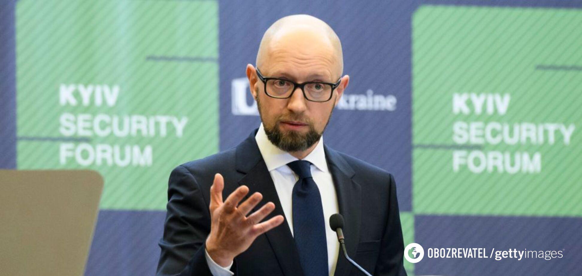Яценюк раптово відмовився від участі у виборах президента: названа заміна
