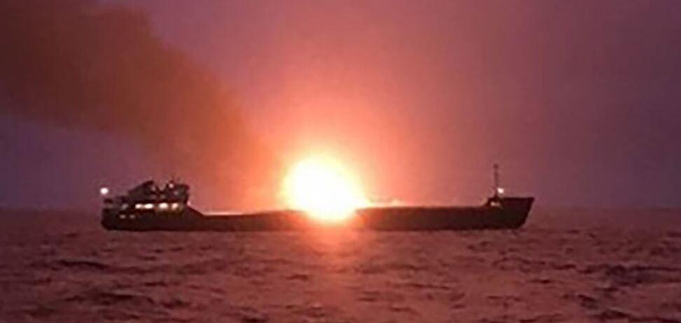 Пожар на танкерах возле Кречинского пролива: а был ли инцидент случайностью?