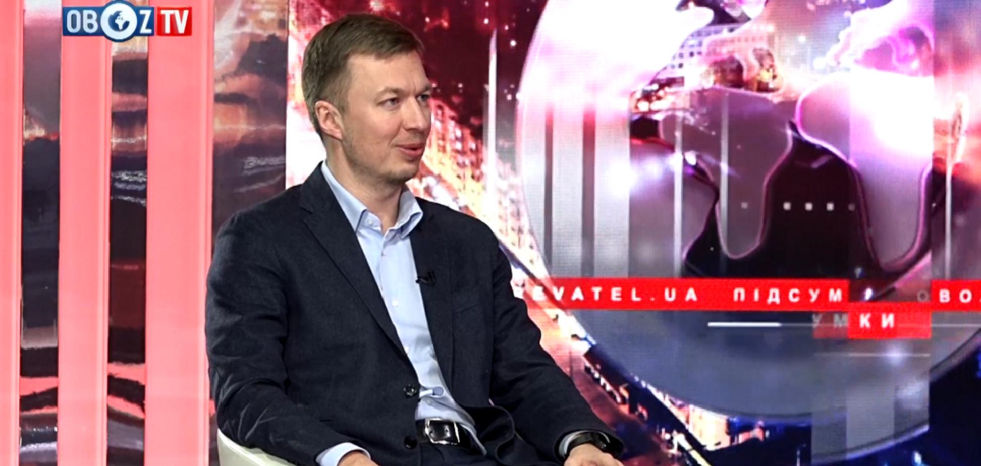 ''Україні потрібен антикризовий менеджер'' – лідер партії ''Основа'' про реєстрацію Сергія Тарути кандидатом в президенти