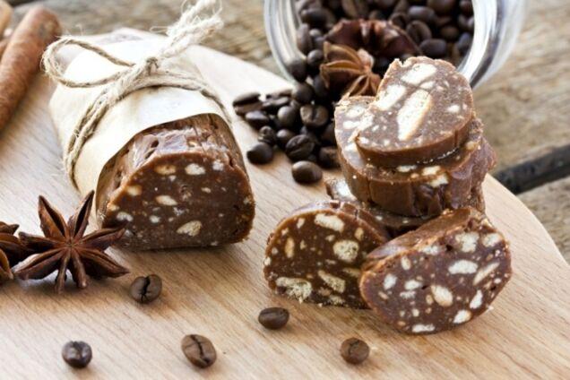 Шоколадна ковбаска