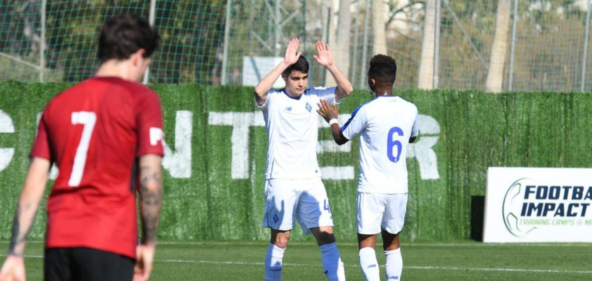 Молодий футболіст 'Динамо' відзначився фантастичним голом у товариському матчі