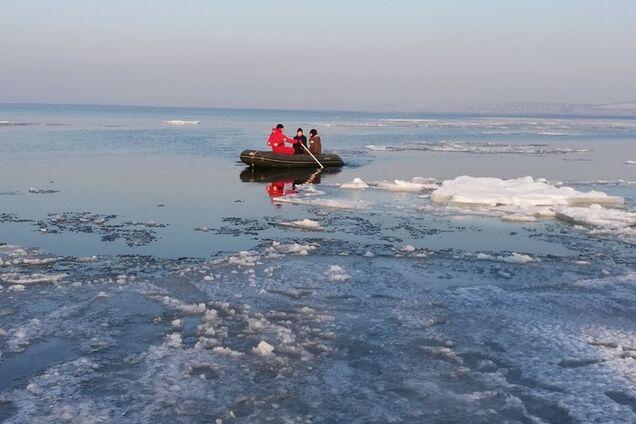 Унесло на льдине: на Одесщине с детьми произошло ЧП