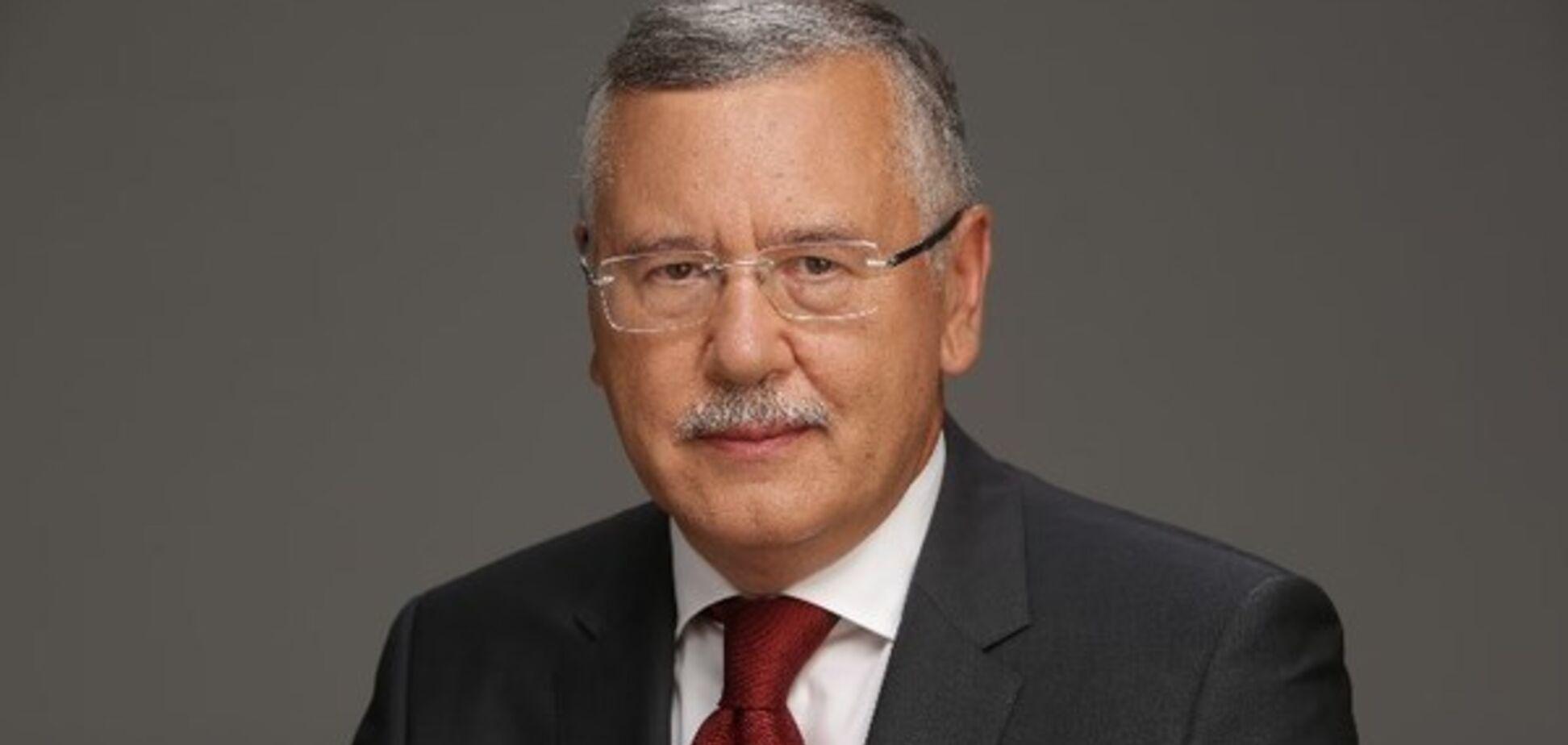 Програма Гриценка на президентських виборах