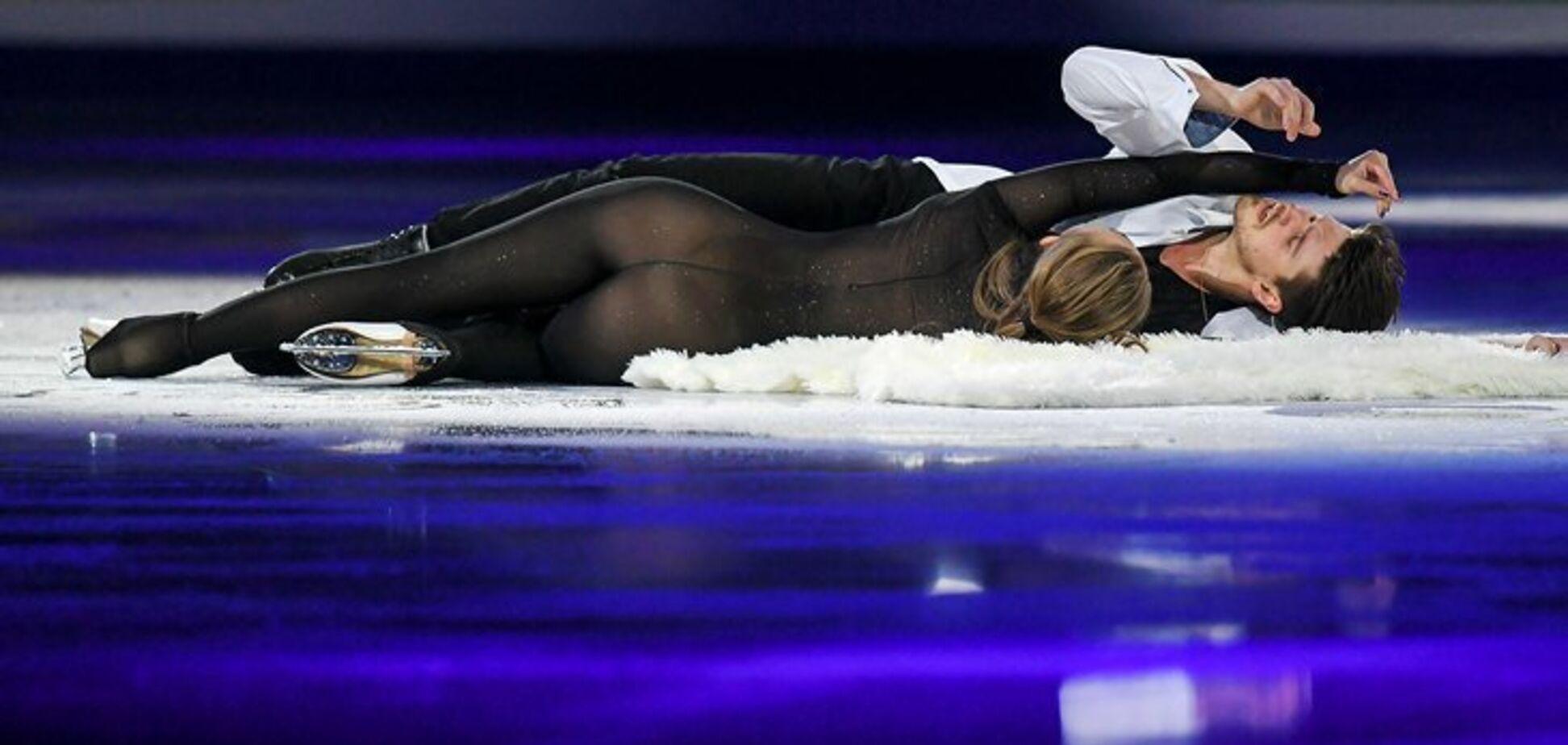 Видно все: російська фігуристка виступила в незвичайному ''голому'' костюмі