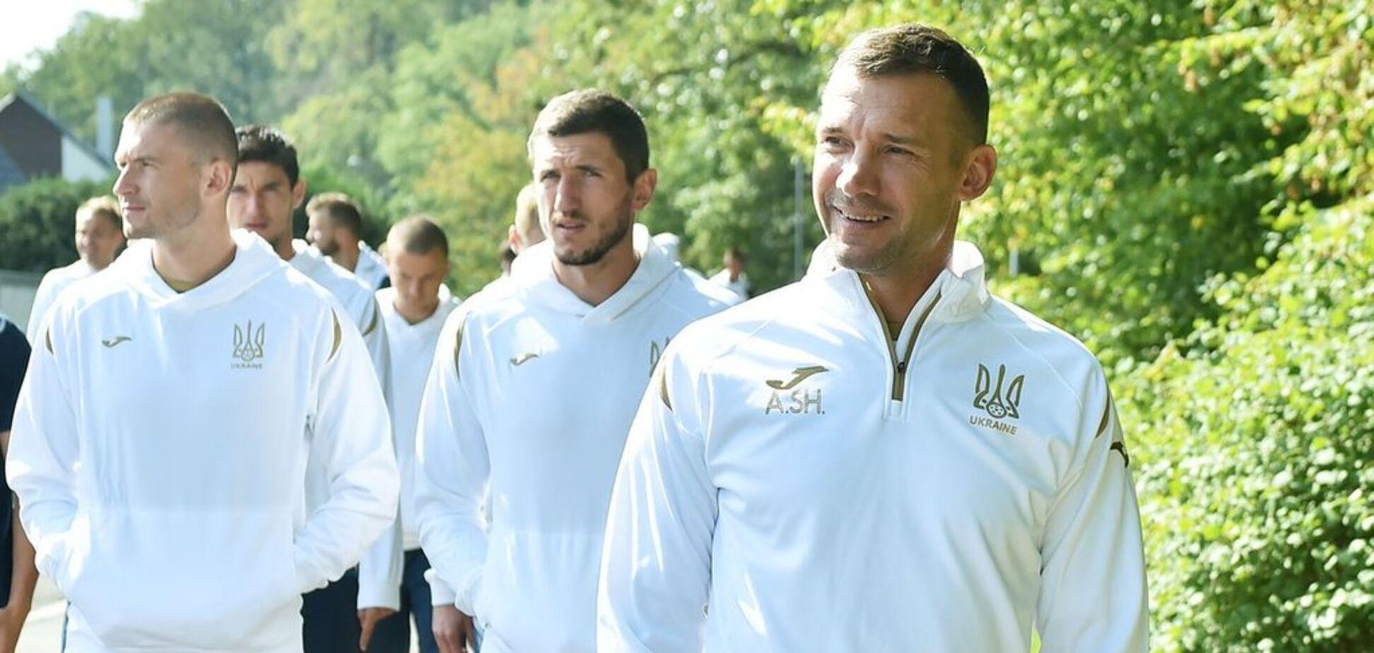 Винник может сорвать матч сборной Украины