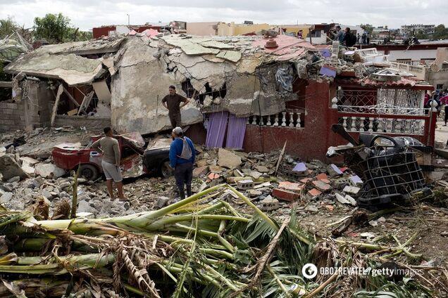 'Как в фильмах ужасов': смертельный торнадо разрушил столицу Кубы. Фото и видео последствий