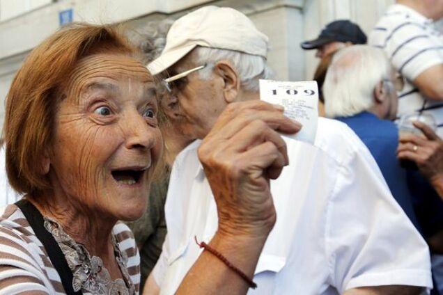 Пенсіонери в Італії