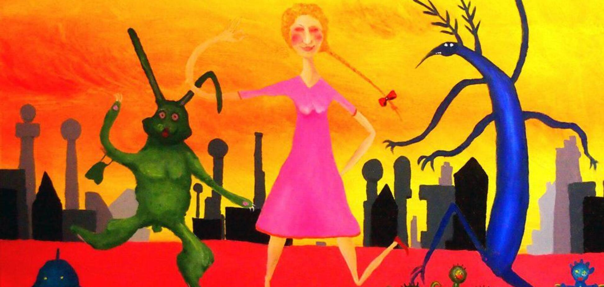 У Києві відкриється виставка Олександра Ляпіна 'Дуже кольорові картини'