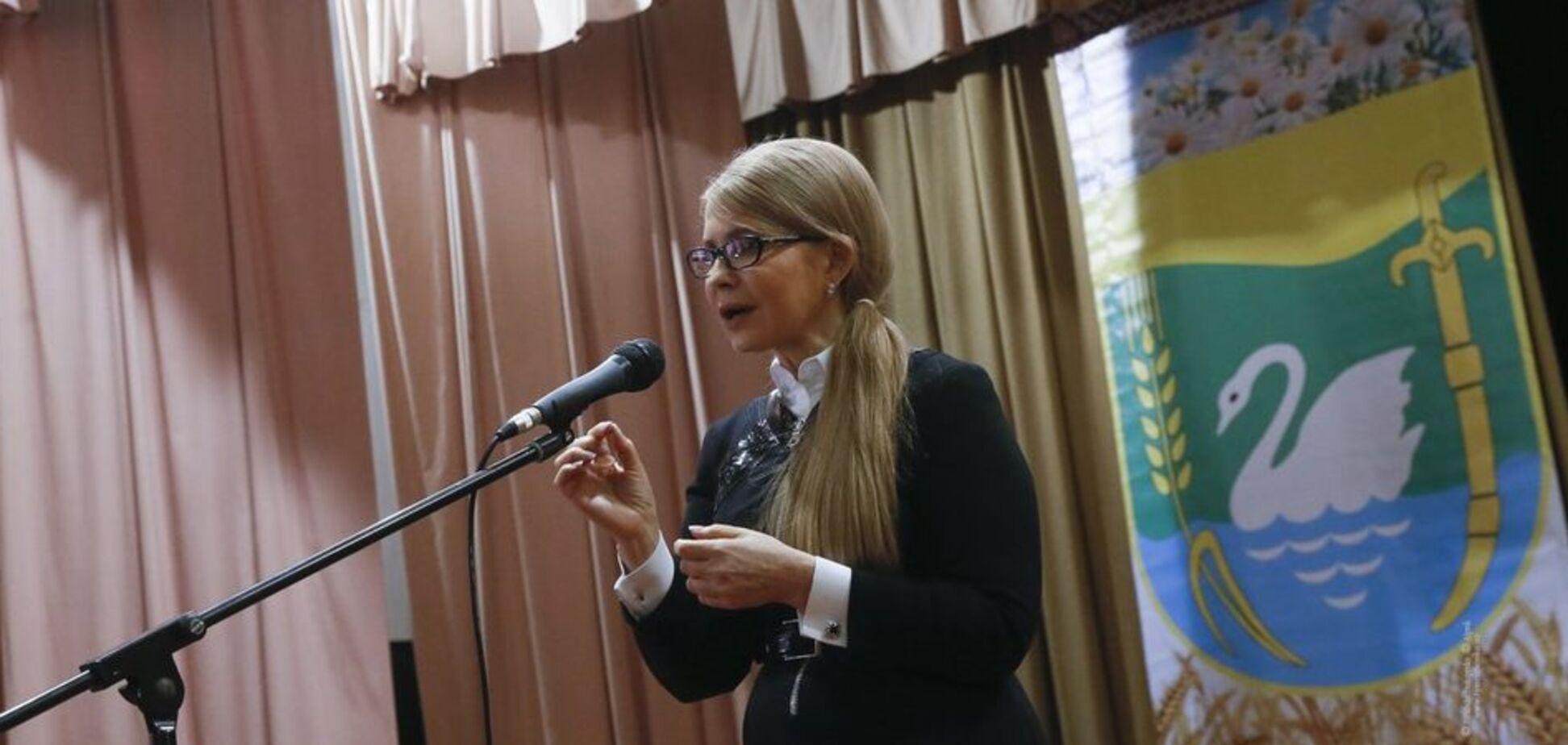 Тимошенко: наше завдання – захистити українського селянина, забезпечити нову якість сільського життя