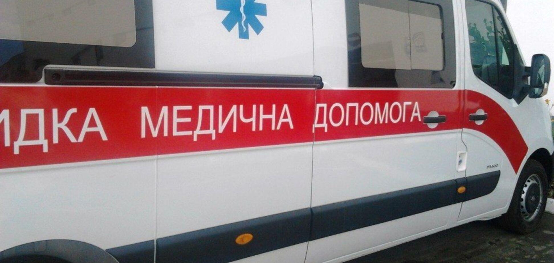 Под Одессой BMW протаранил маршрутку с людьми: много пострадавших. Фото