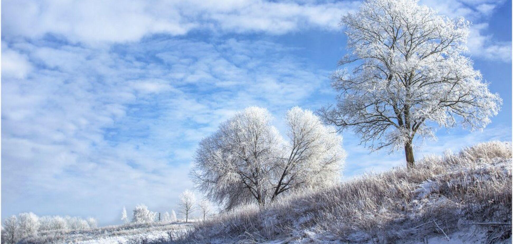 До -20 градусов: синоптики дали ''морозный'' прогноз на январь