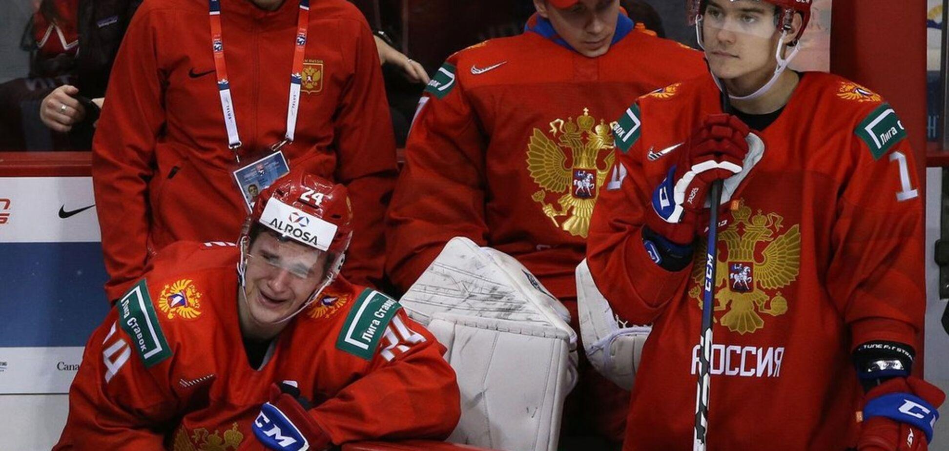 Российских хоккеистов довели до истерики на чемпионате мира