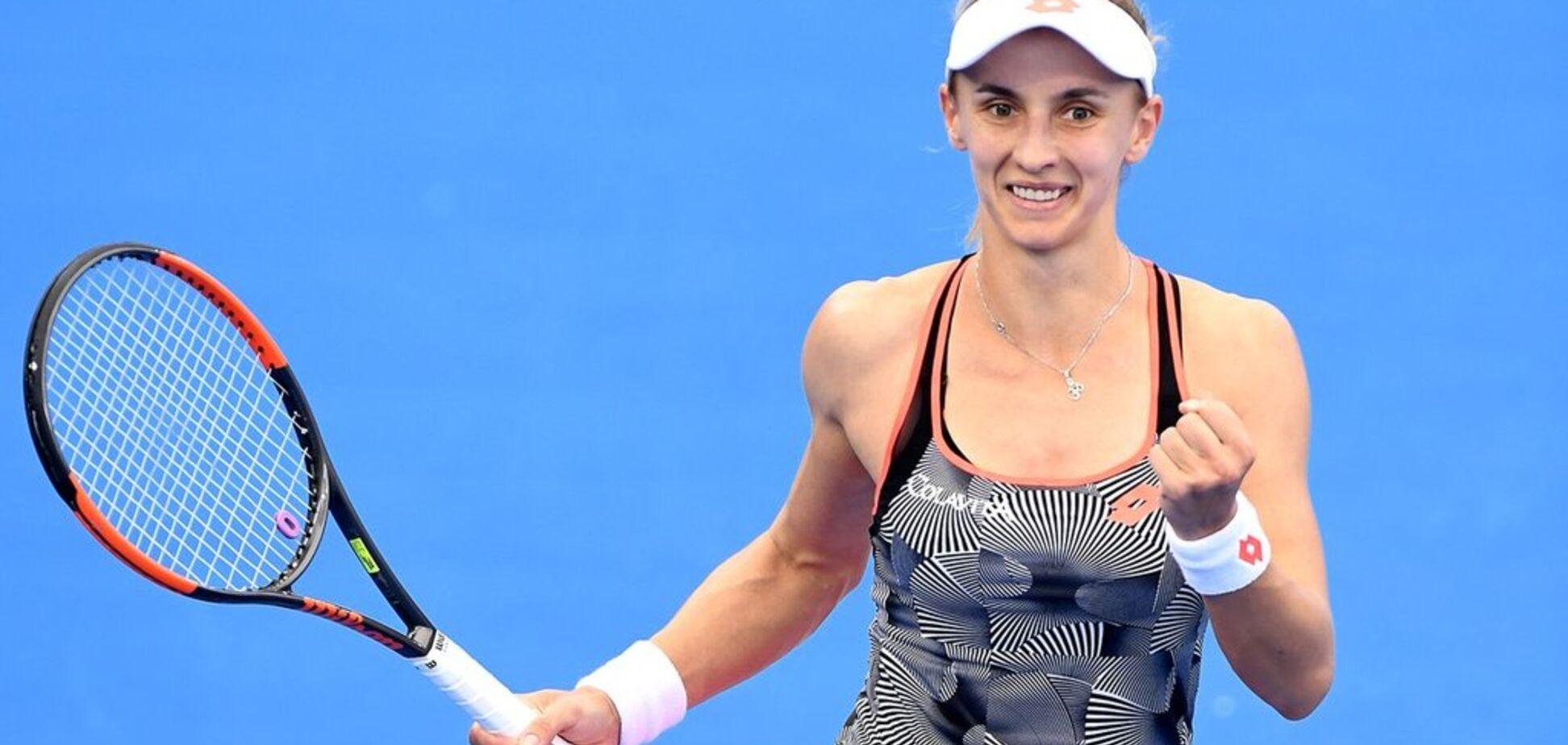 Українка сенсаційно пробилася до фіналу тенісного супертурніру у Брісбені
