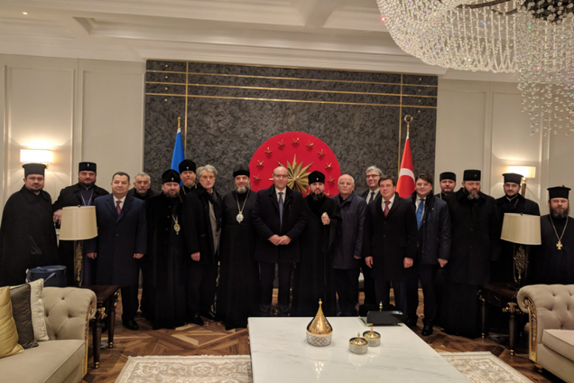 Украинская делегация прибыла в Стамбул для получения томоса