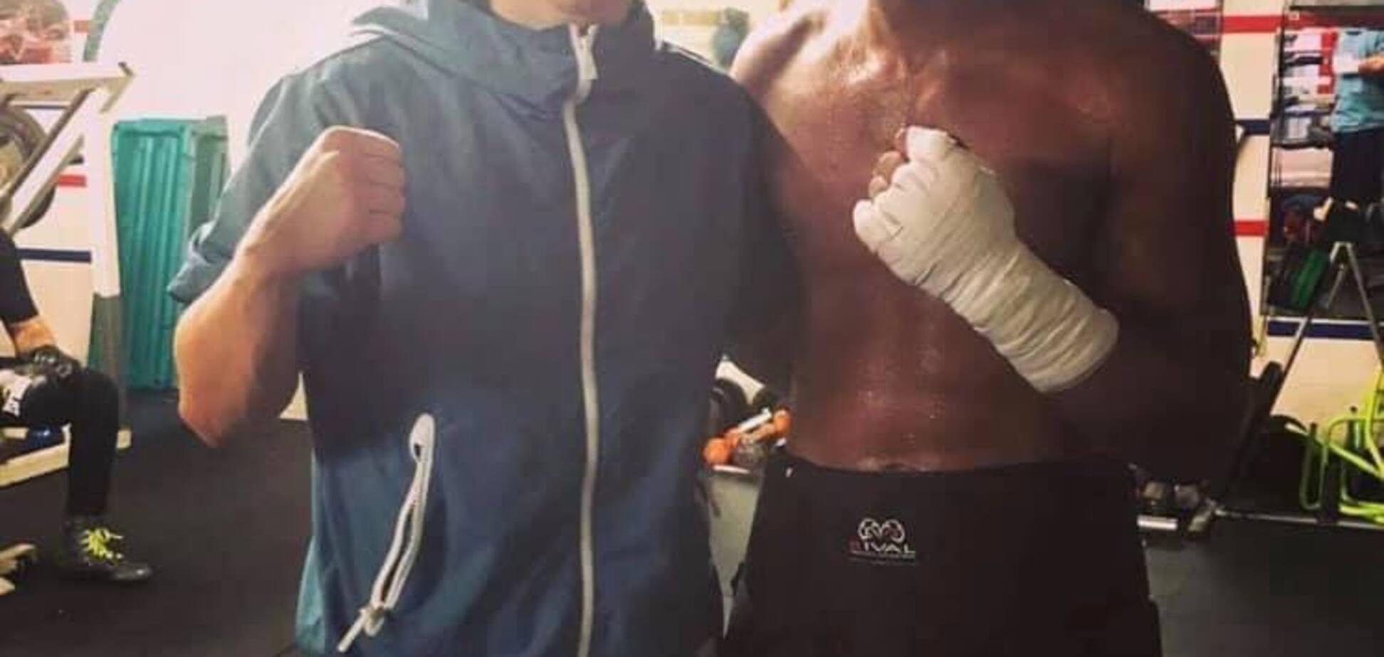 Непереможний чемпіон світу ''побився'' з відомим українським боксером