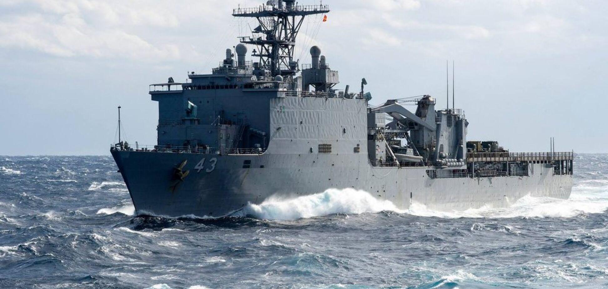 Десантный корабль США вошел в Черное море: что происходит
