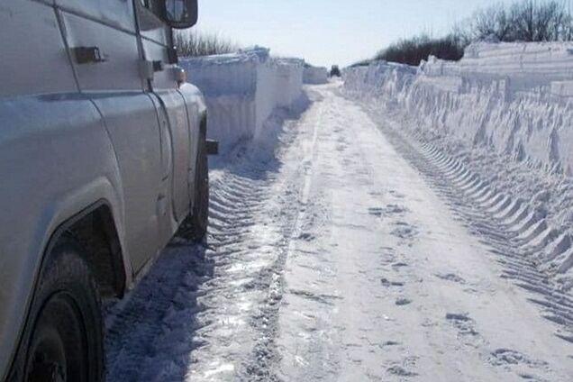 Снег в Донецкой области