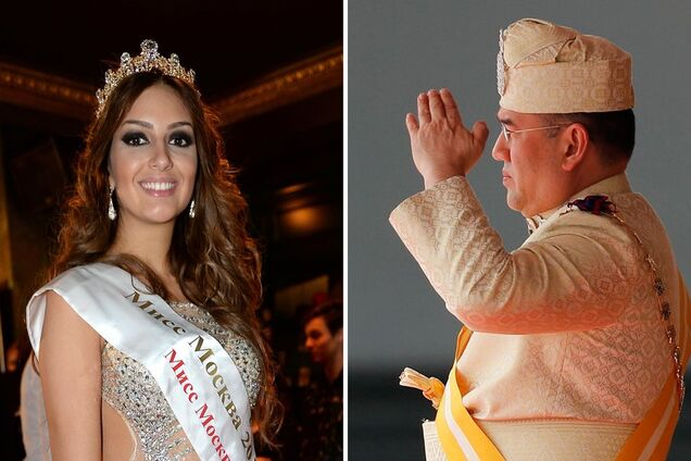 Король Малайзии отрекся от престола после свадьбы с россиянкой