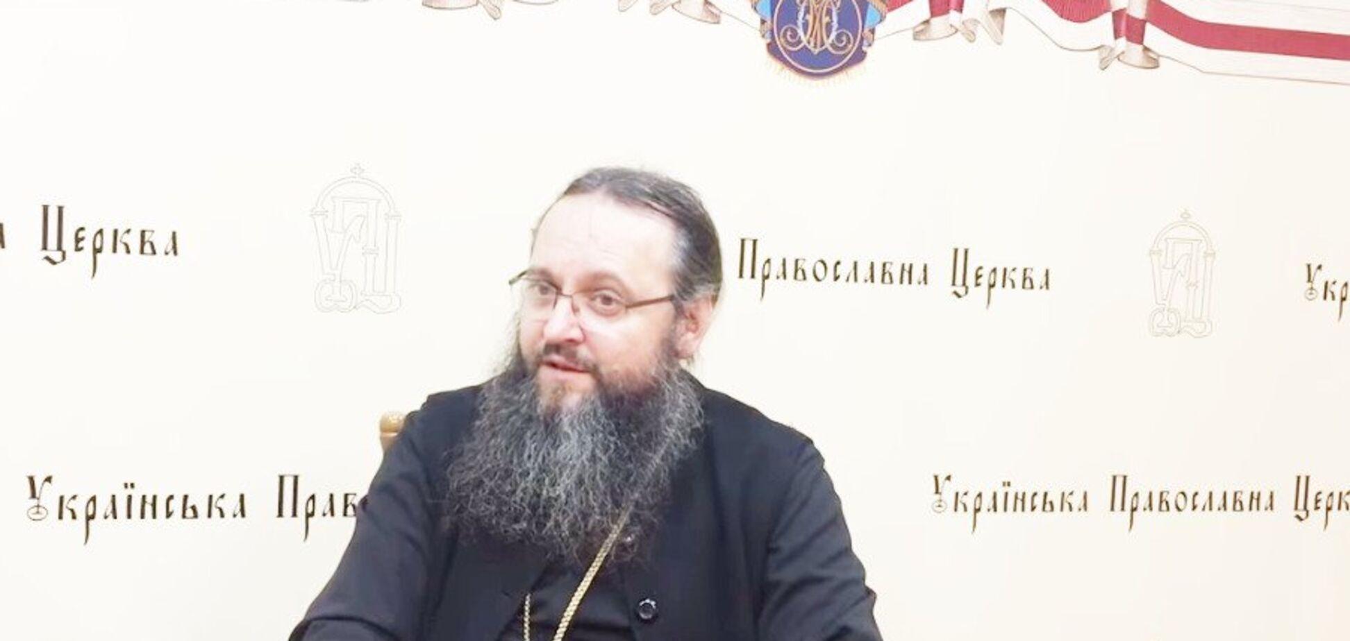 ''Не признает поместная церковь'': в УПЦ МП сделали скандальное заявление из-за Томоса