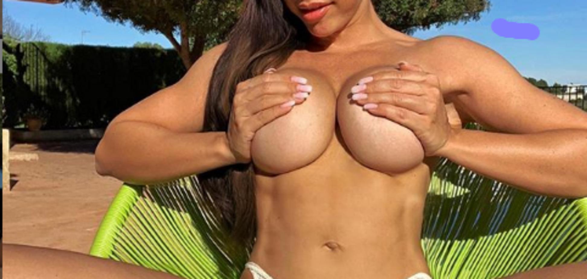Фітнес-модель відсвяткувала мільйонного фоловера дивним голим відео