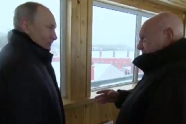 Володимир Путін і Володимир Бендет