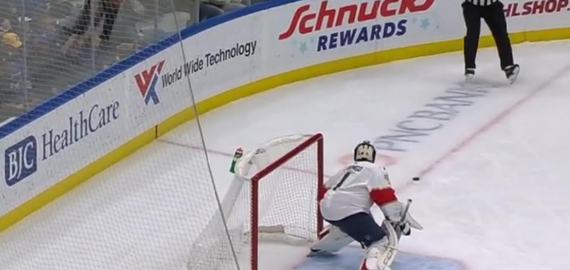 В НХЛ забит самый необычный гол сезона