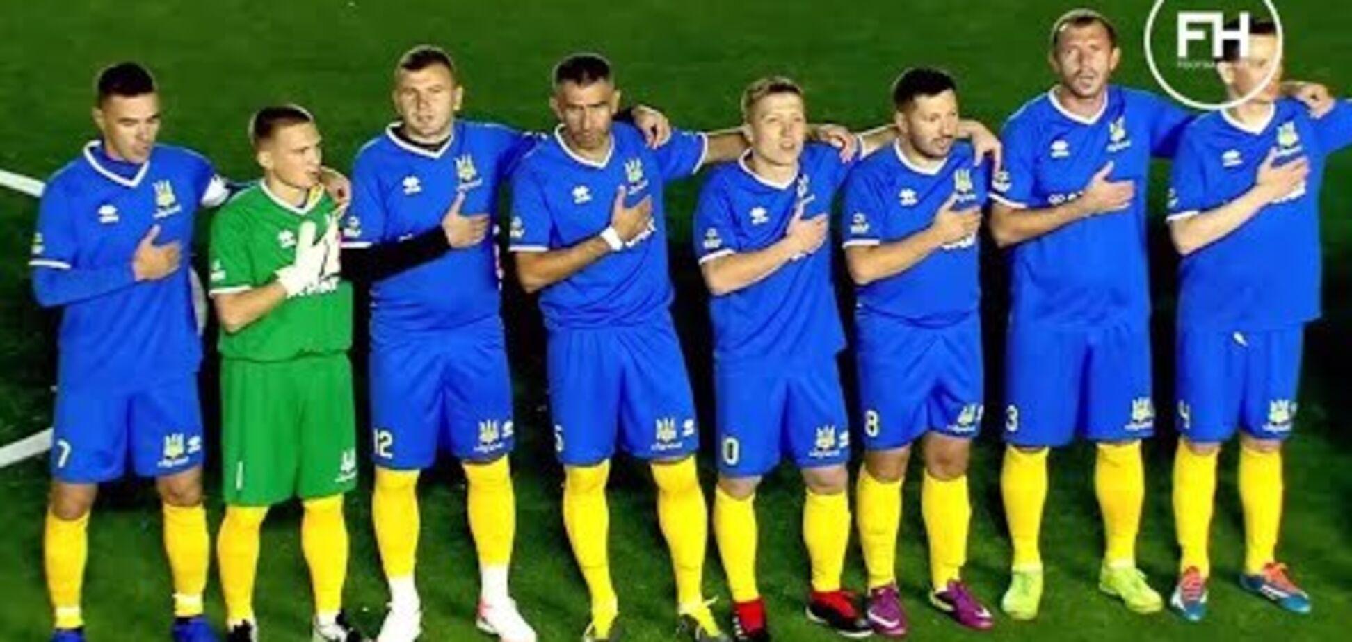 Україна перемогла на чемпіонаті світу з мініфутболу, граючи без воротаря