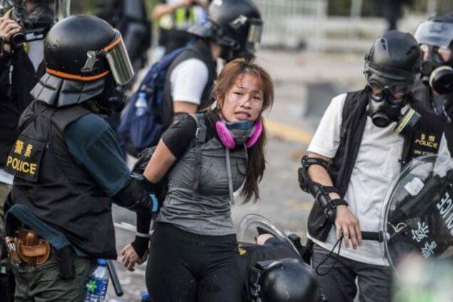 Протест в Гонконге 1 октября