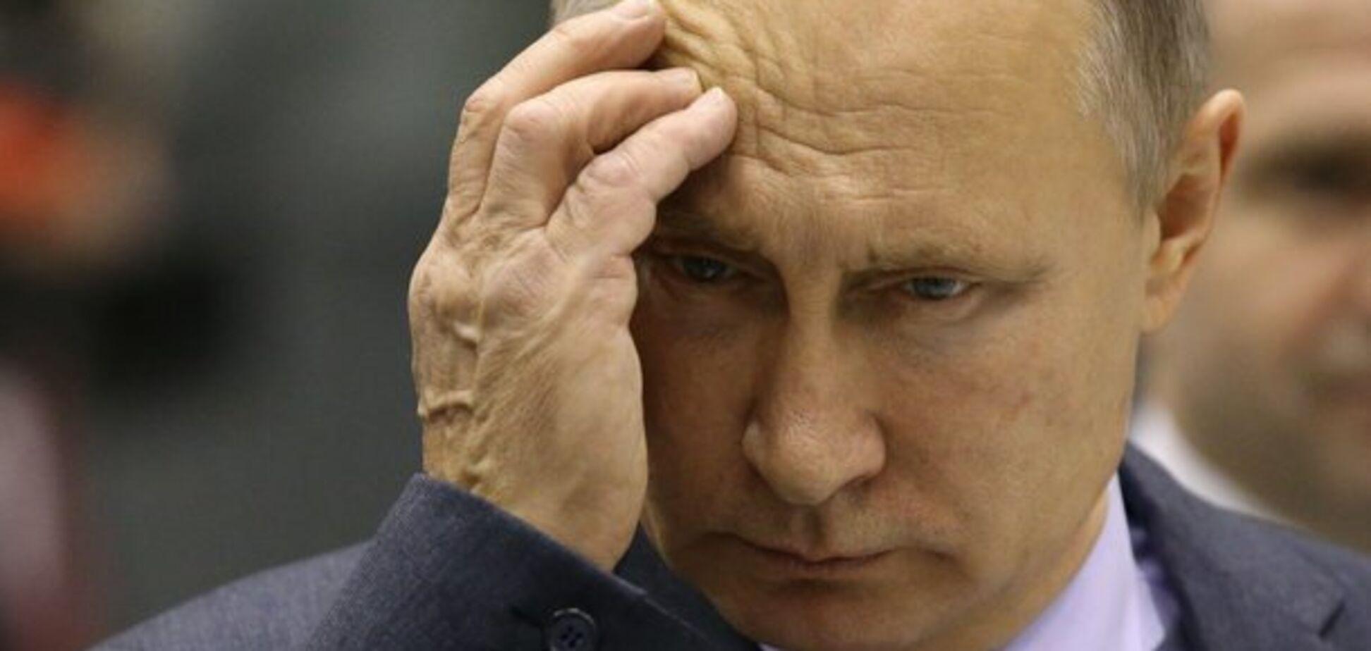 Сил на Путина не осталось?