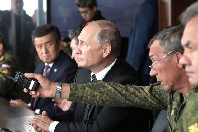 """Володимир Путін на навчаннях """"Центр-2019"""""""