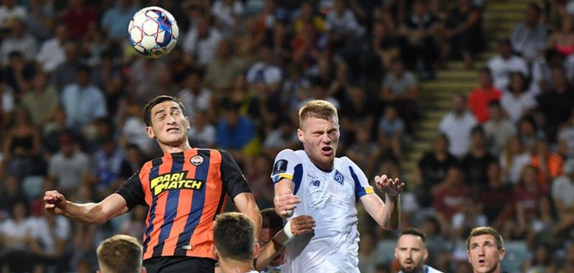 'Динамо' и 'Шахтер' угодили в странную уникальную ситуацию в еврокубках