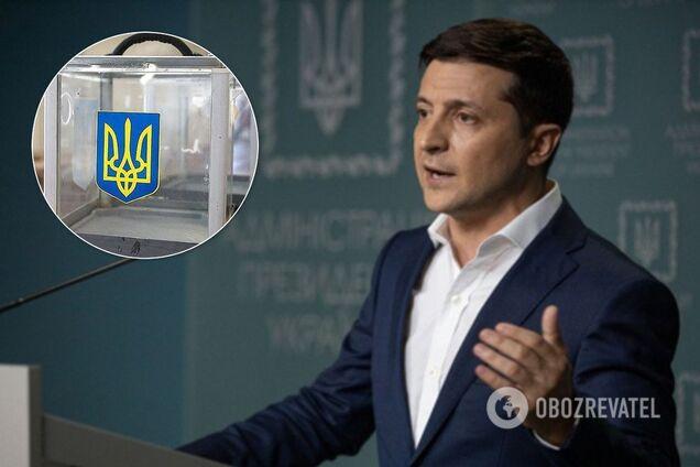 Вибори на Донбасі: Зеленський на брифінгу назвав умову