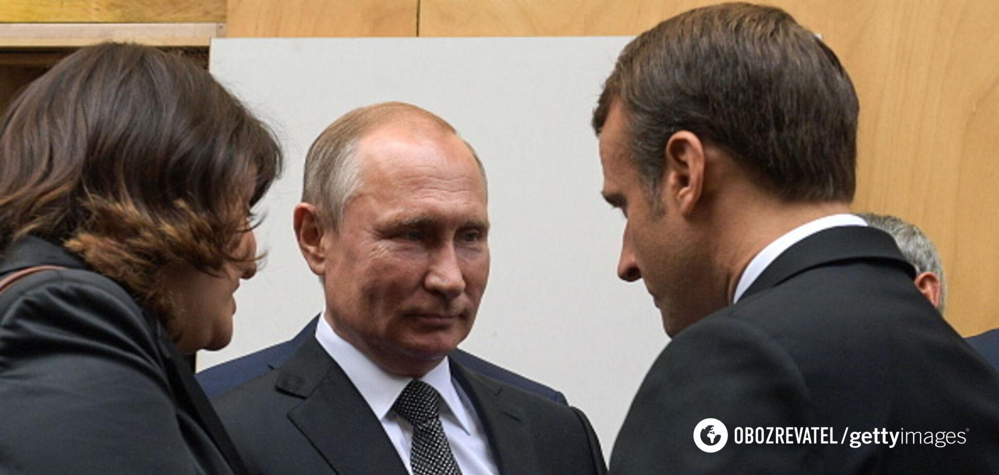 Путин во Франциивызвал шквал 'черного' юмора