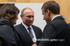 Путін у Франції викликав шквал 'чорного' гумору