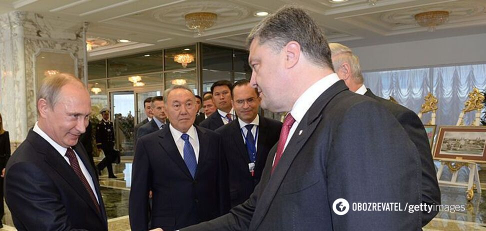 'Чим я можу тобі допомогти?' Розсекречені <strong>переговори Порошенка і Путіна</strong> щодо Донбасу