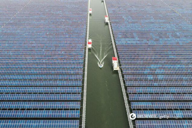 В Германии построят плавающую солнечную ферму