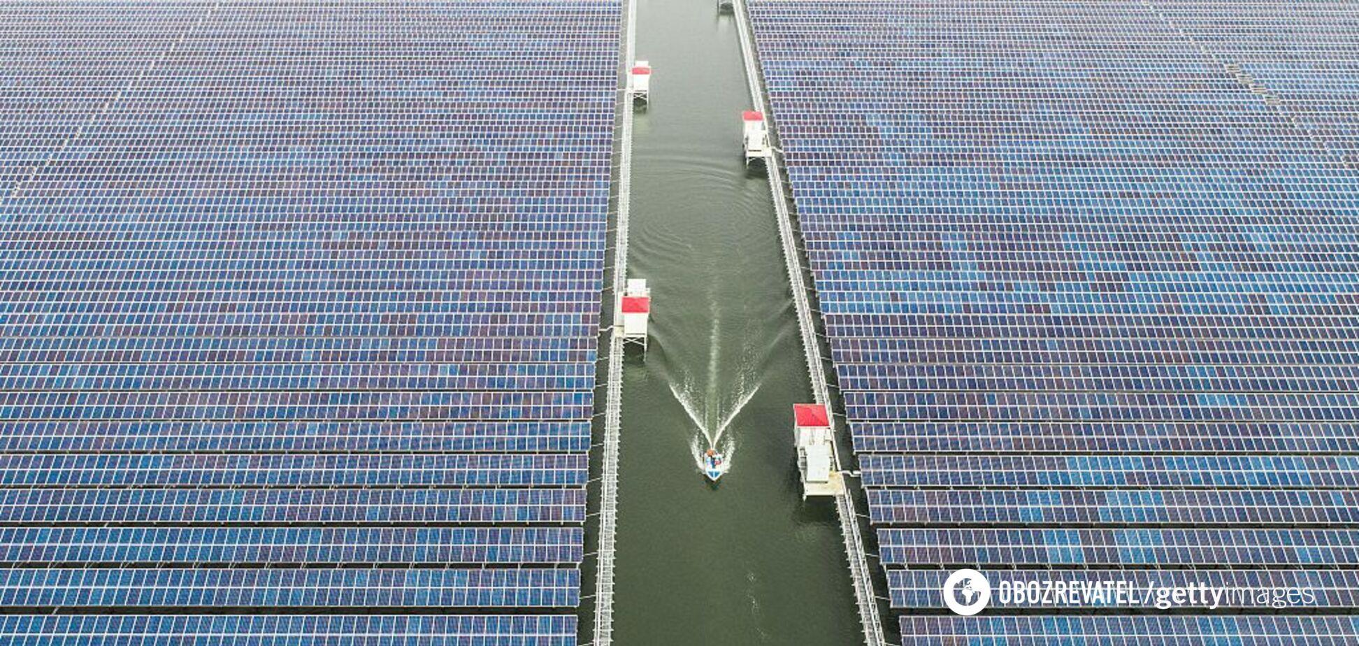 Первая в своем роде: в Германии построят плавающую солнечную ферму