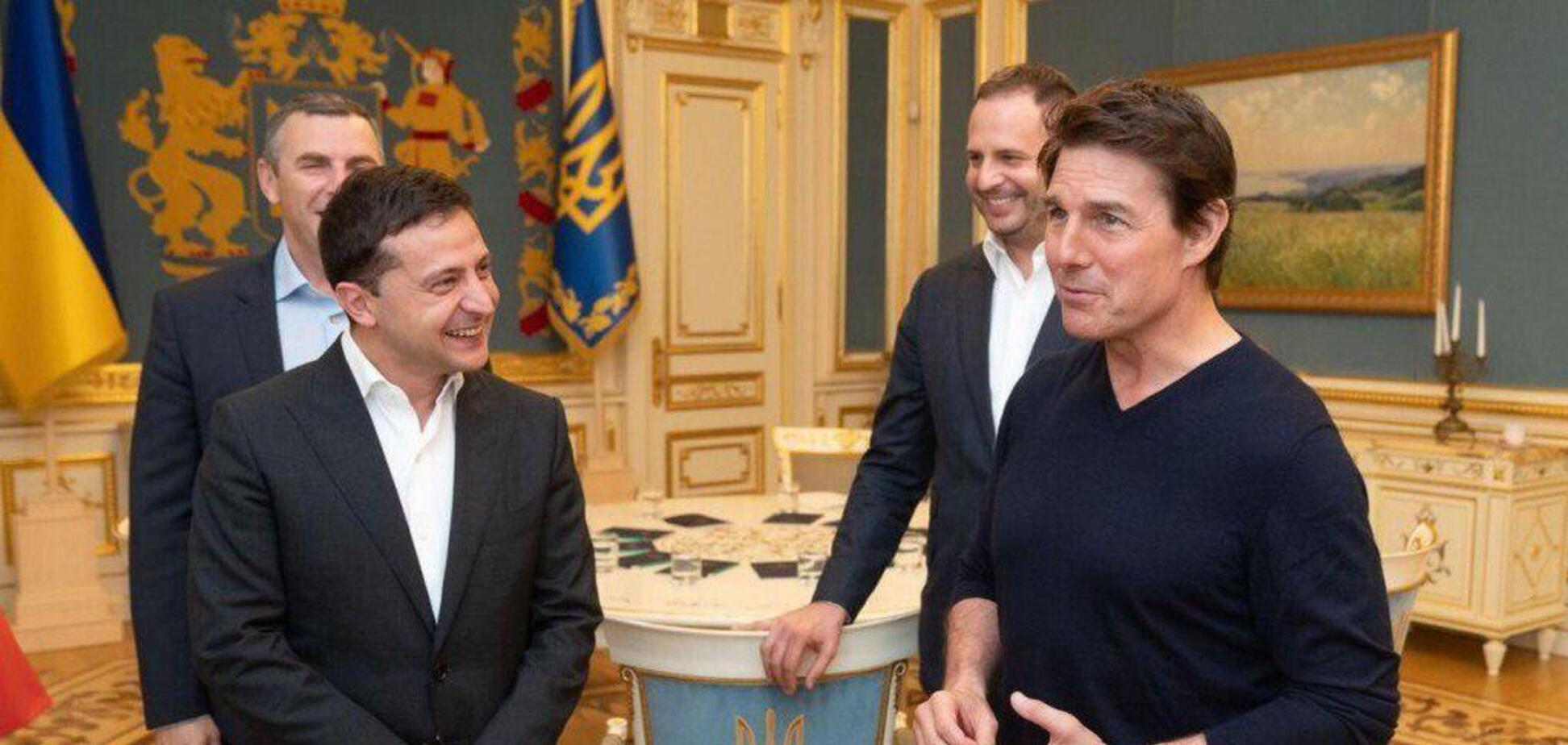 Том Круз приїхав до Києва: з'ясувалася офіційна причина
